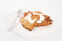 Potato Pancakes Royalty Free Stock Photos
