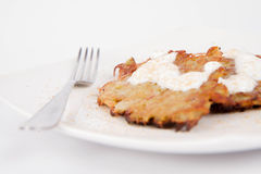 Potato Pancakes Stock Image