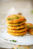 Potato pancakes Stock Photography