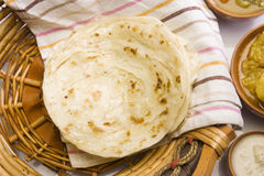 Potato Paratha or Aloo Kulcha royalty free stock image