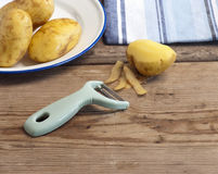 Potato Peeler Royalty Free Stock Images