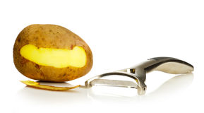 Potato peeler Royalty Free Stock Photography