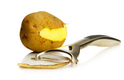 Potato peeler Royalty Free Stock Photo