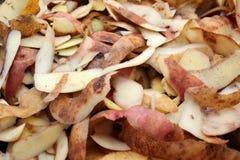 Potato peelings Royalty Free Stock Images