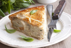 Potato pie Stock Image
