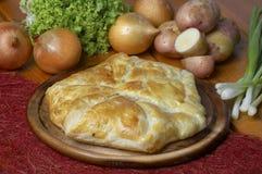 Potato pie Stock Images