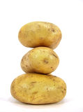 Potato piramid Stock Photo