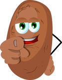 Potato pointing at viewer Royalty Free Stock Photo