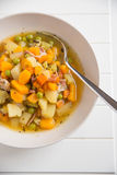 Potato Pumpkin Soup Stock Photo