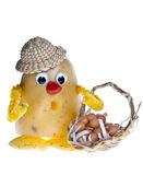 Potato puppet Royalty Free Stock Photography