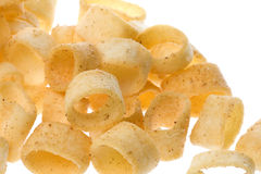 Potato Rings Isolated Royalty Free Stock Photography