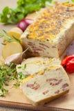 Potato rissole Stock Photo