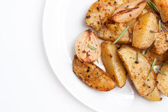 Potato roasted with spicies Royalty Free Stock Photo