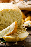 Potato and rosemary bread .style rustic Royalty Free Stock Images
