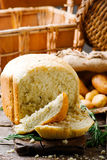 Potato and rosemary bread .style rustic Stock Photo