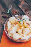 Potato With Rosemary Royalty Free Stock Image
