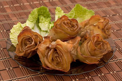 Potato roses Stock Images