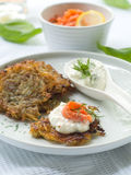 Potato rosti Royalty Free Stock Image