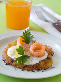Potato rosti Stock Photography