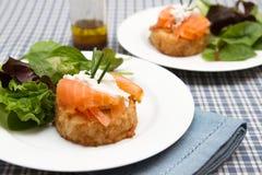 Potato rosti Stock Images
