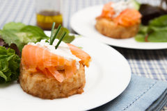 Potato rosti Stock Image