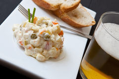 Potato salad Stock Photography
