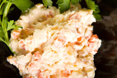 Potato salad Royalty Free Stock Image