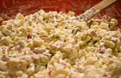 Potato salad Royalty Free Stock Photos