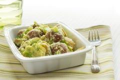 Potato Salad with Avocado and Sour Cream Dressing Stock Images