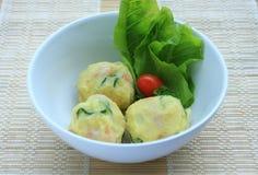 Potato salad balls...wow Stock Photos