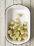 Potato salad Stock Photos