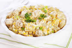 Potato Salad with Corn Stock Images