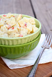 Potato Salad. With diced pimento royalty free stock images