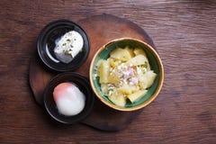 Potato Salad with Eggs Stock Image
