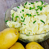 Potato salad Stock Images