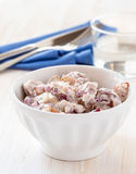 Potato salad made with  boiled baby potatoes Royalty Free Stock Photo