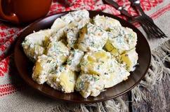 Potato salad Stock Images