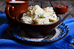 Potato salad Royalty Free Stock Photography