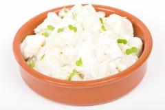 Potato Salad with shallots Royalty Free Stock Photo