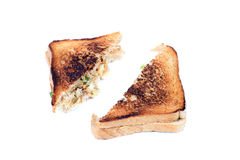 Potato sandwich Royalty Free Stock Photos