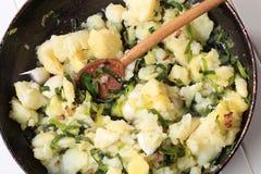 Potato side dish Stock Photography