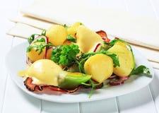 Potato side dish royalty free stock photo