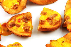 Potato skin Royalty Free Stock Image