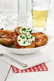 Potato Skins II Stock Images