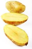 Potato slice Stock Photography