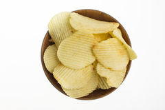 Potato slices Stock Image