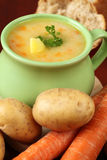 Potato soup Royalty Free Stock Photos