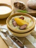 Potato soup Stock Image