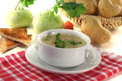 Potato soup Stock Photography