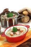 Potato soup Stock Photo